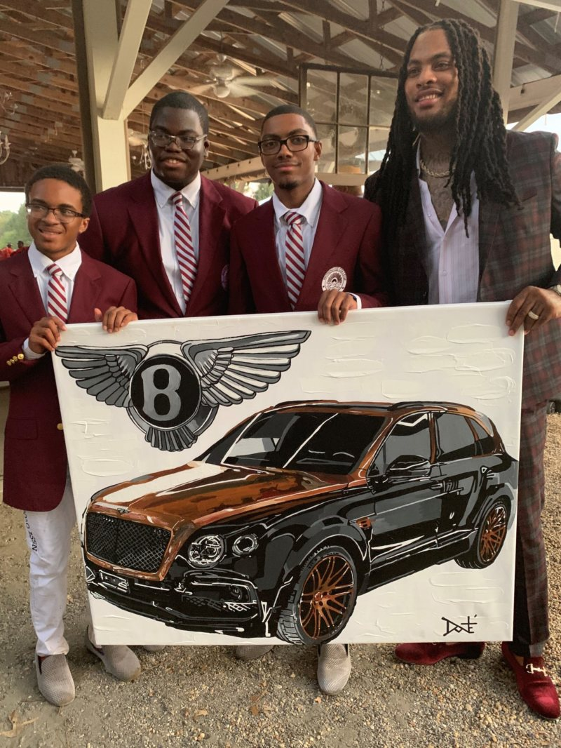 Morehouse College Polo Team members with rapper Waka Flocka at the 2nd Annual Atlanta Fashion and Polo Classic (Photo Credit ETV Media) .jpg