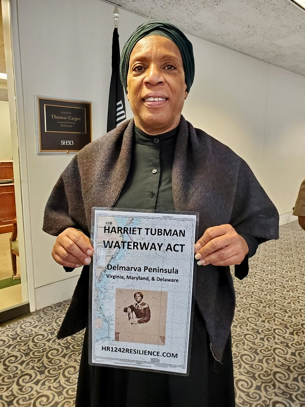 Harriet Tubman goes to Congress